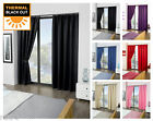 Thermal Blackout Ready Made Curtain Pair, Light Reducing Pencil Pleat Curtains