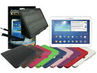 Leather Case+Screen Cleaner Pad+Stylus for Samsung Galaxy Tab 3 10.1