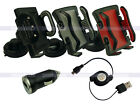 In Car Phone Holder+1A Charger+USB Cable for Samsung Galaxy S5 S4 S III Mini