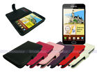 Leather Wallet Case Cover for Samsung Galaxy Note with Card Slot