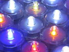 10 x Round Waterproof LED Candle Tea Light Wedding