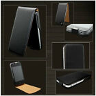 Genuine Luxury Leather Magnetic Flip Case Cover Pouch For Apple iPhone 4 4S 5 5S