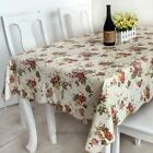 #10 European Style PVC Waterproof Oilproof Dinner Table  Cloth Tablecloth