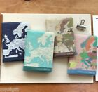 World Map Passport Case Cover Ticket Card Holder Travel Mini Wallet Cute Pouch