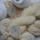 Yarns and threads for dyeing