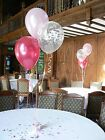 Happy Birthday Party Helium Balloons - 10 table Decorations - Free Post