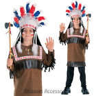 CK231 Cherokee Indian Warrior Native American Boy Book Week Fancy Dress Costume
