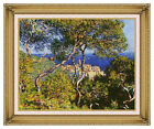 Framed Art Print Claude Monet Mediterranean Bordighera Painting Reproduction