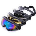 Windproof Bike Motorcycle Ski Goggles Anti-fog Lens Glasses UV Protetor Eyewear