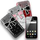 Stylish Bow Diamond Hard Case for Samsung Galaxy S5830 S5830I+Free Screen Guard