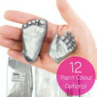 New BabyRice Baby Casting Kit 3D Plaster Handprints Footprints Hand Foot Casts