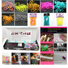 HOT (600pcs)+Clips(24 pcs)+Hook Pearl color  Kids Create Refill Rubber Bands