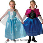 CK153 Licensed Disney Frozen Princess Anna Elsa Dress Child Girls Costume
