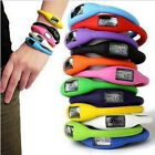 Supreme Digital Silicone Rubber Jelly Anion Ion Bracelet Wrist Watch  UK AT