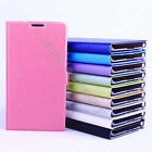 Fresh Candy Color Ultra Slim Style Holder Cover Leather Case For Various Phone
