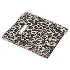 100pcs Leopard Print Plastic Jewelry Gift bag handbag Shopping bags New #10