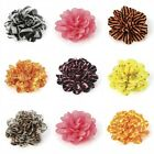 Patterned Ruffled Flower Hair Elastic Bobble Band Beak Clip Corsage Accessories