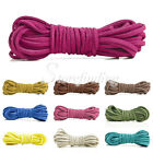 30 Colors Faux Suede 5m 3x1.5mm Jewelry Making DIY Thread String Cord Thong
