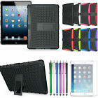Military Heavy Duty Shock Proof Hybrid Rugged Stand Cover Case For iPad 4 3 2 UK