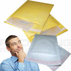 ECONOMY BUBBLE LINED ENVELOPES MAILERS (JIFFY STYLE) BAGS *ALL SIZES* - GOLD