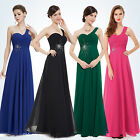 One Shoulder Women's New Long Bridesmaid Cocktail Party Prom Formal Dress 08077