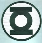 "Large 8"" Green Lantern Corps Classic Style Embroidered Iron-On Patch"