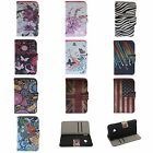 Business Card stand leather Wallet Case Cover Skins Protection FOR HTC one M7