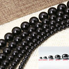 4MM 6MM 8MM 10MM 12MM Ball Black Magnetic Hematite Spacer Charms Beads Findings