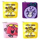 Genuine Mr Men and Little Miss Wallet / Coin Zip Purse Gift UK Licensed Product