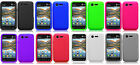Silicone Protector Gel Soft Skin Cover Case for LG Optimus Fuel L34C Phone