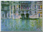 Venice Palazzo da Mula by Claude Monet Painting Repro Stretched Canvas Art Print
