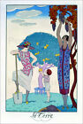 "Poster / Leinwandbild ""The Earth, 1925"" - Georges Barbier"