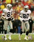 Jerry Rice Tim Brown Oakland Raiders NFL Action Photo (Select Size)