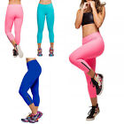 Women Tights Leggings Gym Trouser YOGA Sports Pants High Waist Cropped