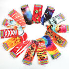 Chic Womens Men Cute Harajuku Style 3D Printed Low Cut Ankle Socks 14 Patterns