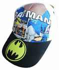 Boys Batman Cap Sun Hat Two Colours 2-4 Years 4-7 Years Adjustable Strap