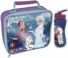 OFFICIAL DISNEY FROZEN PRINCESS ELSA ANNA LUNCH BAG OR BOTTLE SCHOOL GIRLS OLAF