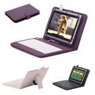 "iRulu X1 7"" Tablet 16GB Android 4.2 Dual Core Cam 1.5 GHz WIFI Purple w/Keyboard"