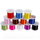 10M/Roll Strong Elastic Stretchy Beading 1mm Thread Cords for  Jewelry Making