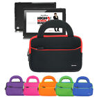 Sleeve Portfolio Handle Cover Case Pouch Bag For iRulu 7 inch Android Tablet PC