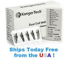 **IN STOCK** NEW KANGER 0.8 Ohm DUAL COILS *Updated Coils* Sub Ohm * 5 Packs *