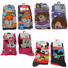 Official Licensed Disney - 2 Pairs Girls or Boys Socks - 4 designs - Size 6-8.5