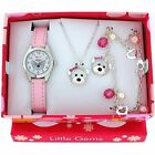 "Ravel Little Gems Kids ""Teddy Bear"" Watch & Jewellery Gift Set For Girls R2224"