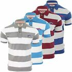 Tokyo Laundry Hommes Polo T-shirt 'Castor Pierre'Manche Courte Rayures