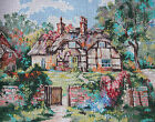 "Pegasus Marty Bell ""Ginger Cottage"" Printed Needlepoint Canvas"