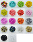 200pcs 4mm Czech Glass Seed Spacer beads Jewelry Making DIY 18Colors-1 Miexd Z18