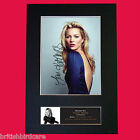KATE MOSS Signed Autograph Quality Mounted Photo Repro A4 Print 517