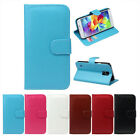 1PC Retro Leather Wallet Flip Cover Case For Samsung Galaxy S5 i9600 Fit