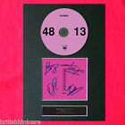 KASABIAN 48:13 Album Signed CD DISC Reproduction MOUNTED A4 Autograph Print