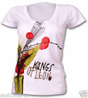 Kings Of Leon Venus Flytrap T Shirt Official Womens White  S M L